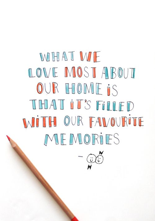 what is your favorite thing about your home home house