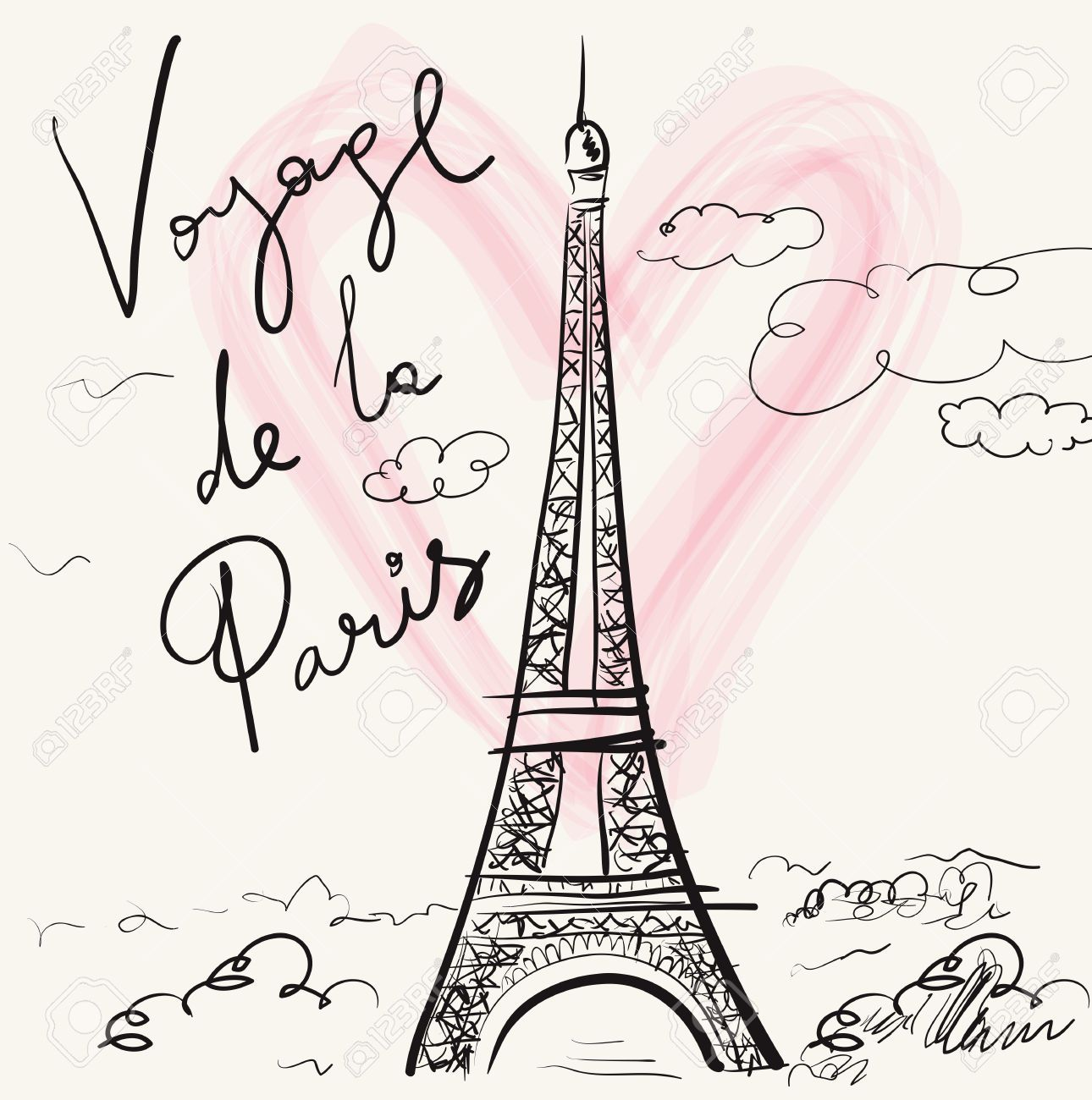 Image Result For Eiffel Tower Drawing