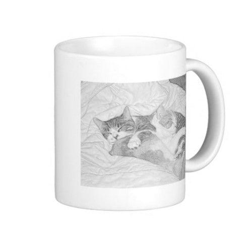 #Cat #Kitten #Coffee #Mug