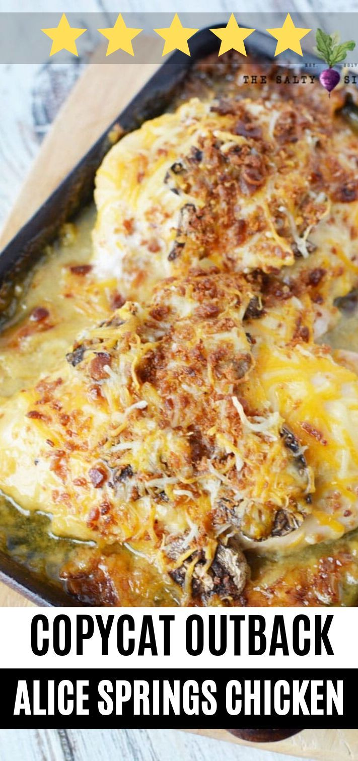 Alice Springs Chicken An Outback Steakhouse Copycat Recipe Is A
