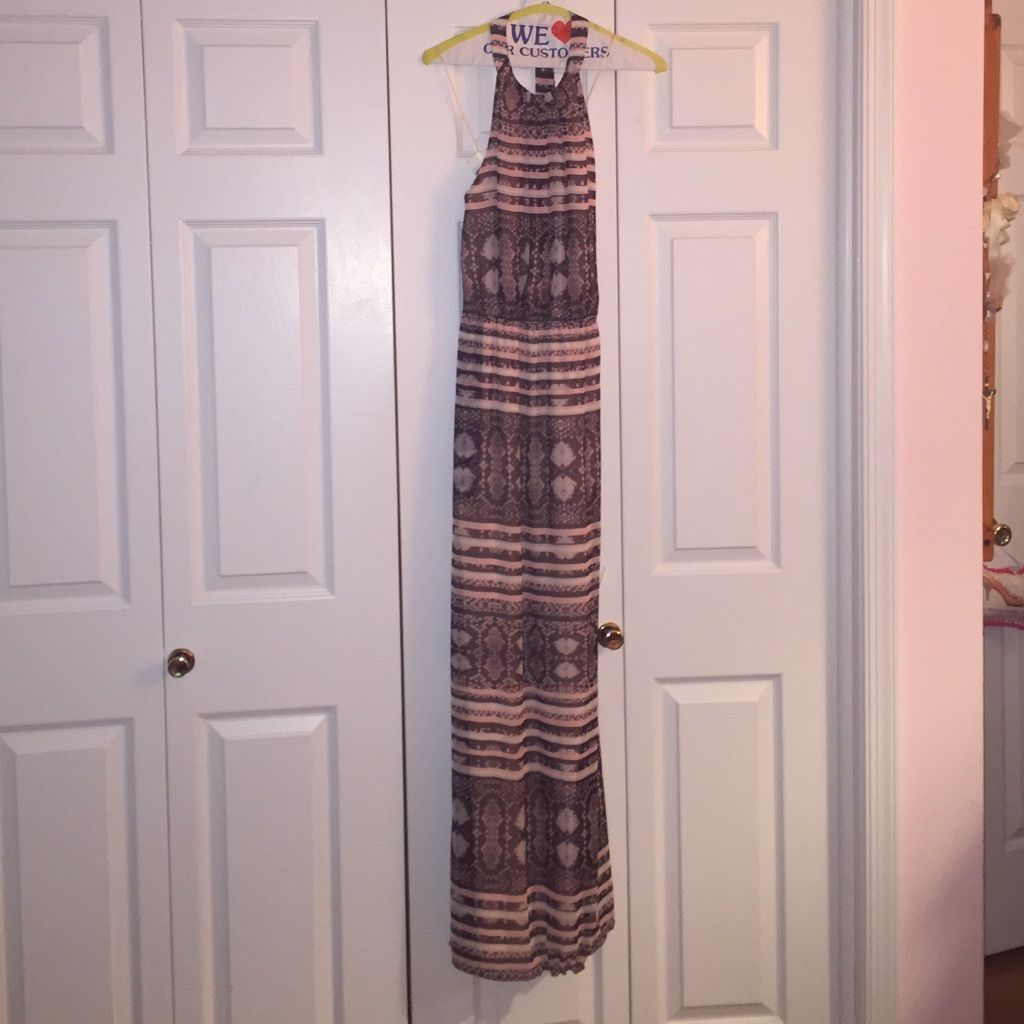 Jessica Simpson Halter Dress