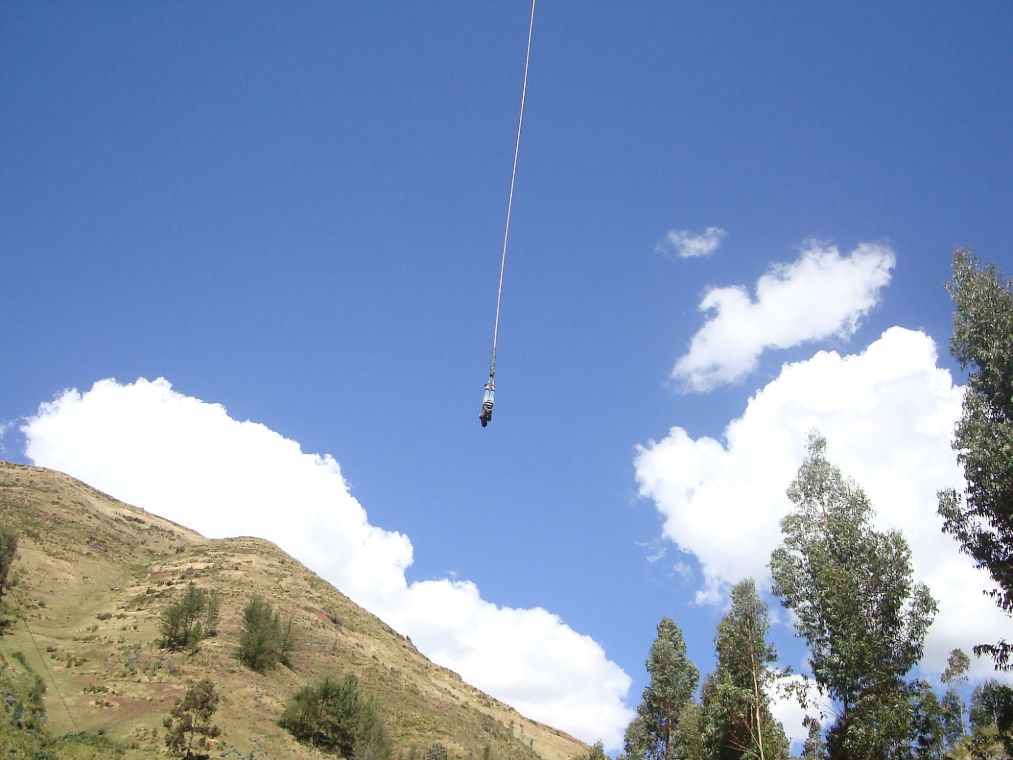 Bungee Jump at Action Valley (Cuzco, Peru)