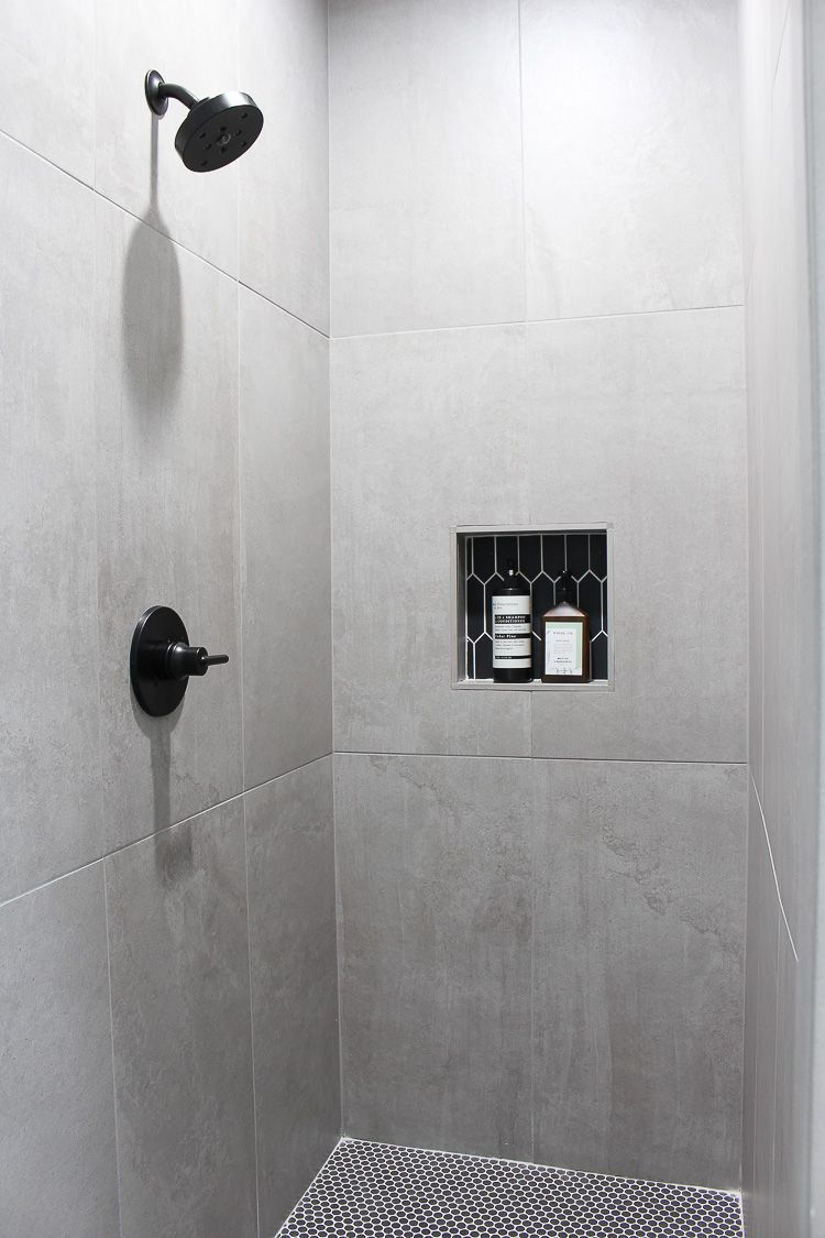 Bathroom Design With The Concrete Trend The House Of Silver Lining Concrete Tiles Bathroom Concrete Bathroom Concrete Shower