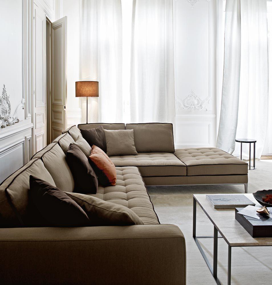 Space Invader Couch Sofas Lucrezia Collection Maxalto Design Antonio Citterio