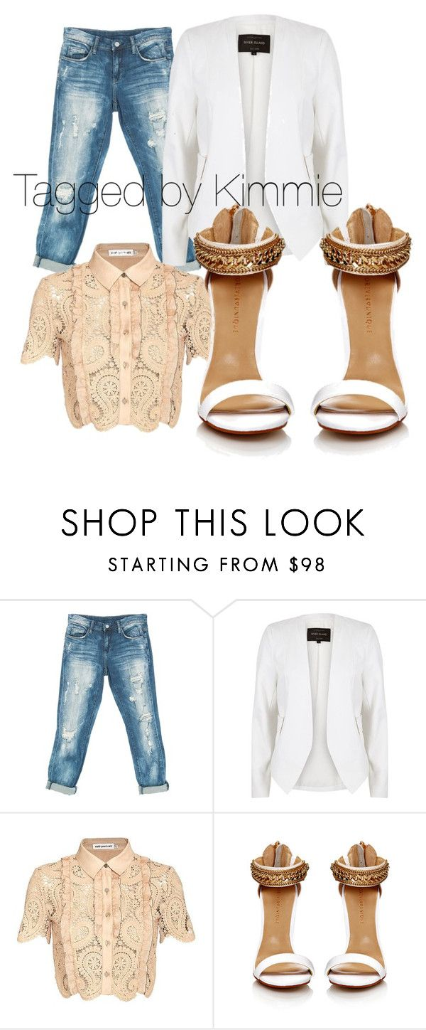 """""""Give me 15 minutes!!!!!"""" by taggedbykimmie15 on Polyvore featuring Sans Souci, River Island and self-portrait"""