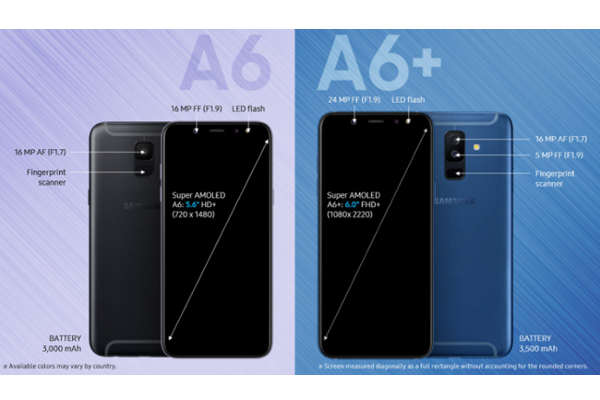 Samsung Galaxy A6 And Galaxy A6 Announced With Infinity Display And Android Oreo Price Availability Specifications Android An Samsung Samsung Galaxy Galaxy