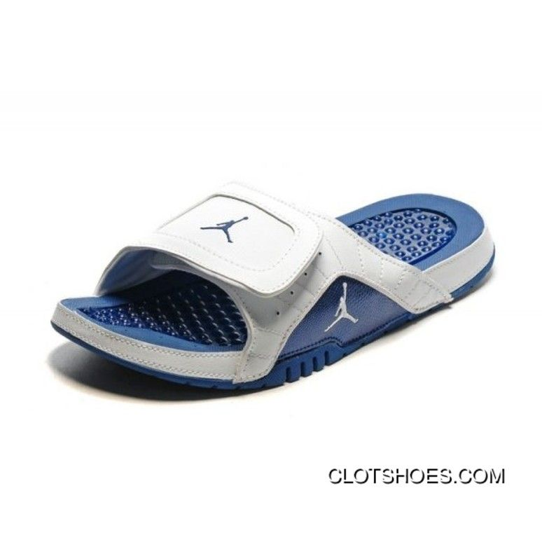 New Release Air Jordan Hydro 12 Retro Slide White French Blue Converse Shoes 00d5f7569