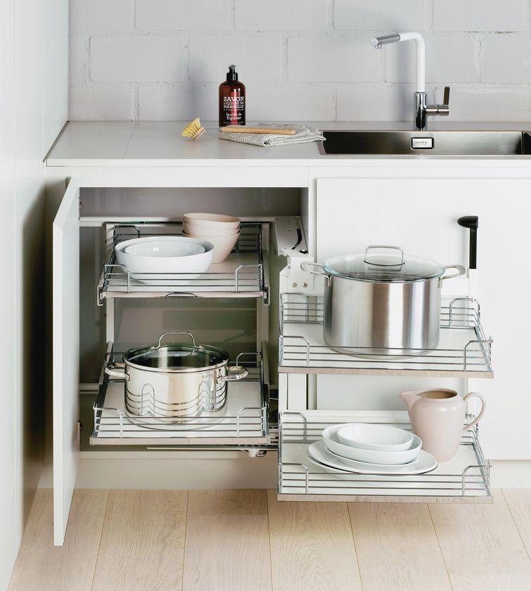Eckauszug kuche - Kuchenmobel fur kleine kuchen ...
