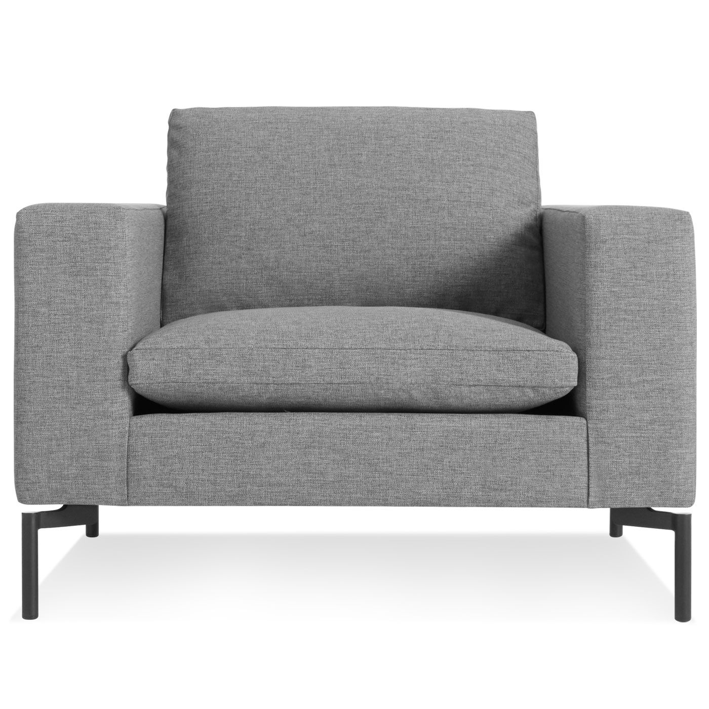 Best The New Standard Lounge Chair Spitzer Grey Black 400 x 300