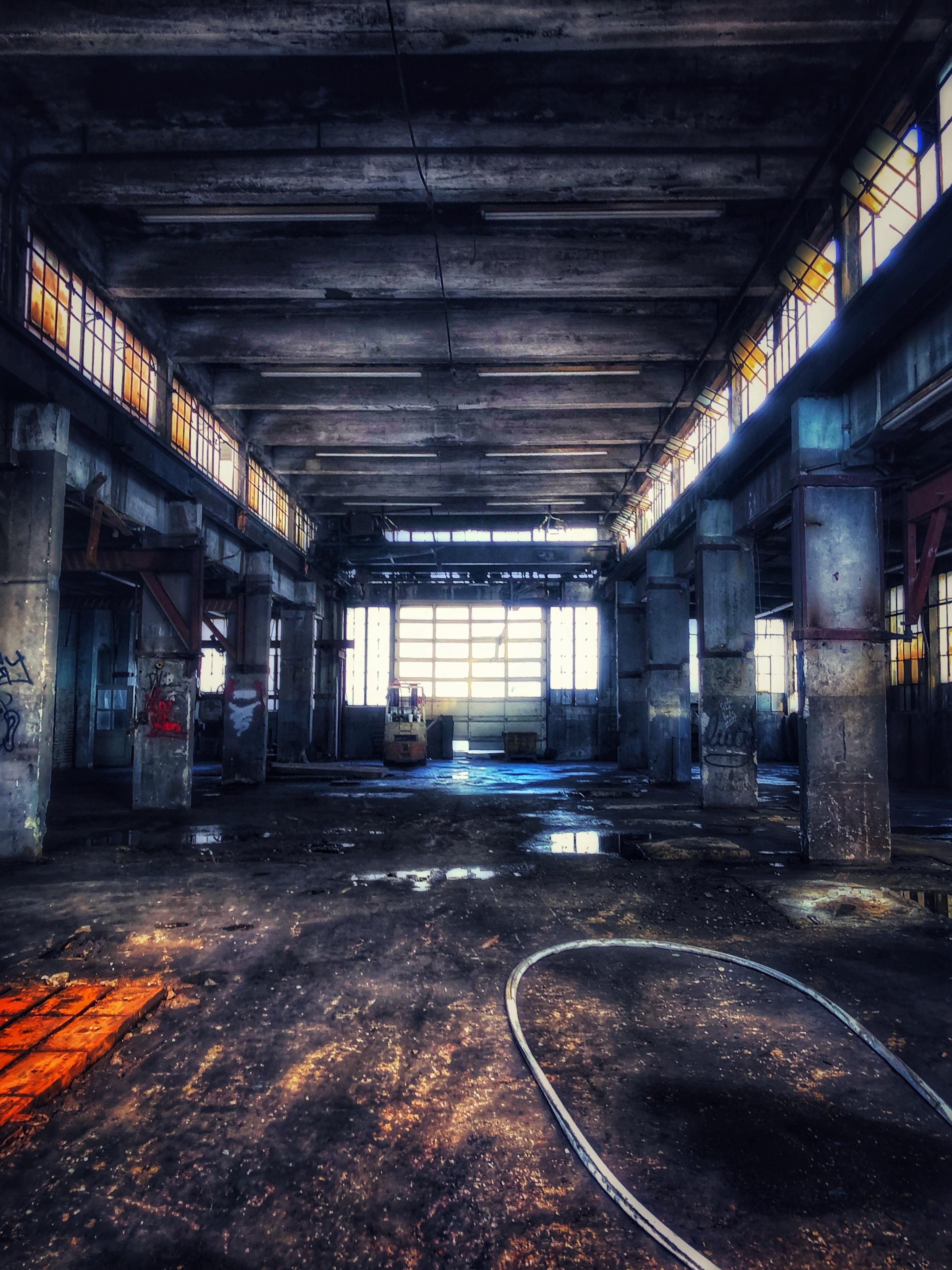 Abandoned factory Memphis Tennessee Abandoned factory