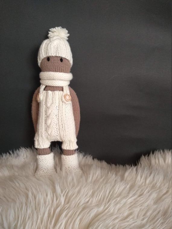 KNITTING PATTERN - Doll Set II - The Oak Folk Knitting ...