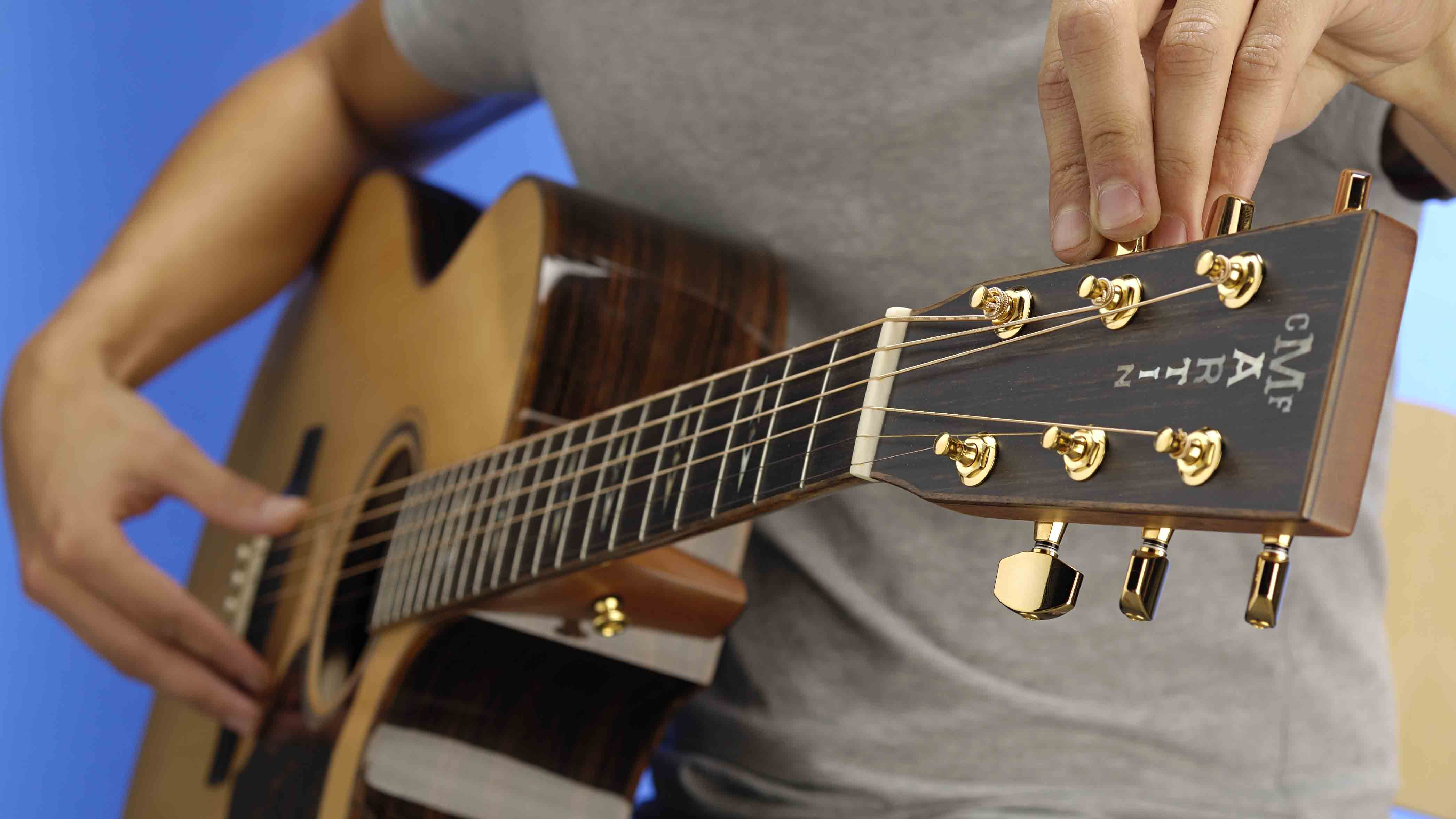 How To Tune Your Guitar By Ear Guitar Guitar Tuning Guitar Tuners