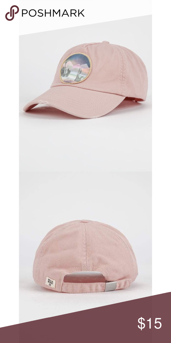 bf56c03ca65a2 Blush Cactus Dad Hat by Billabong New with tags. Factory distressing. On  trend. Sold out! Tilly s Accessories Hats