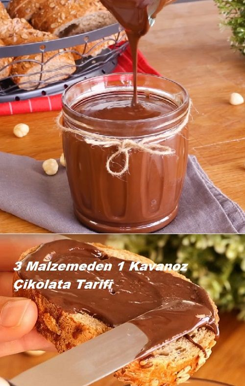 Photo of 1 Jar of 3 Ingredients Chocolate Recipe