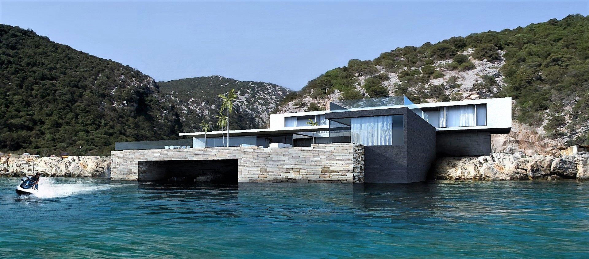 Maison contemporaine bord de mer architecte cannes en 2019 ...