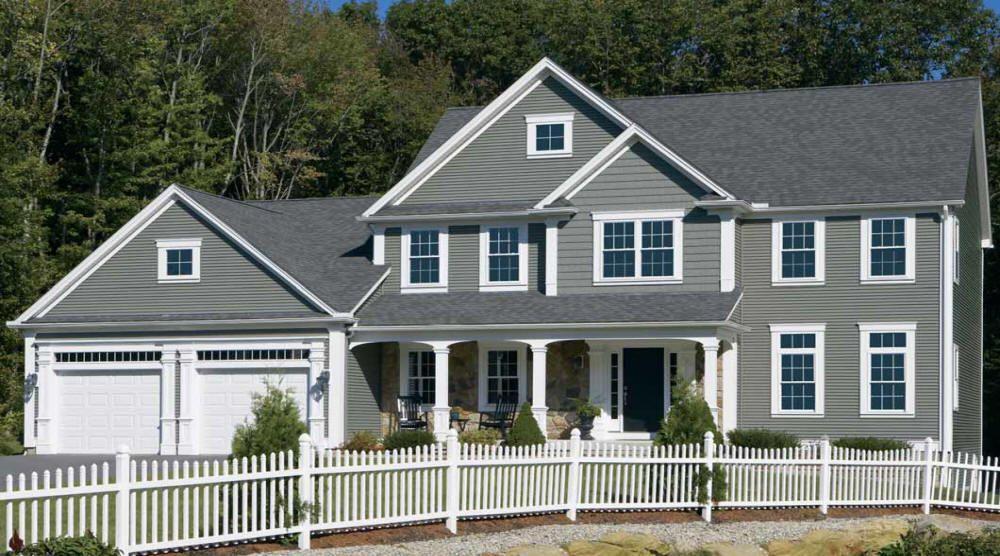 Best Carvedwood 44 Siding Color Scottish Thistle House 640 x 480