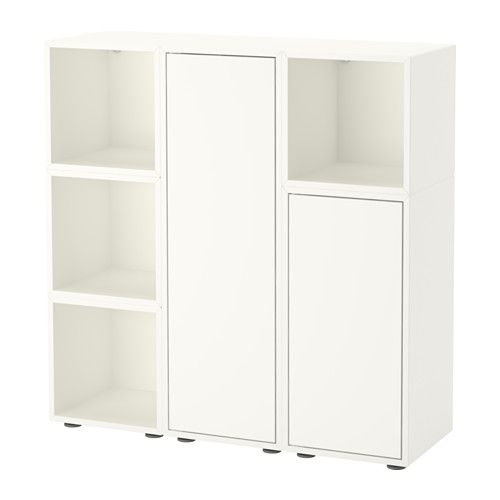 Büroschrank ikea  EKET Cabinet combination with feet, white | Storage, Ikea eket and ...