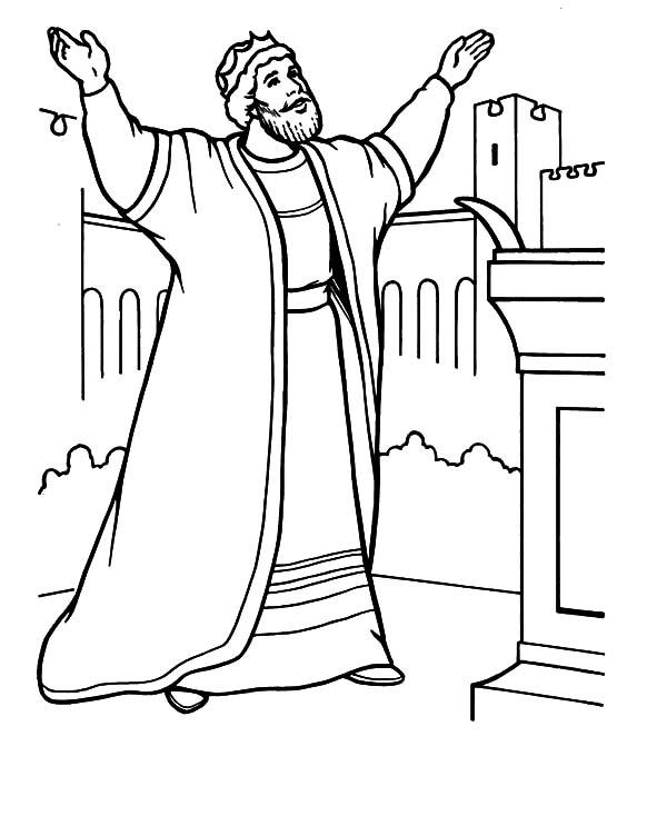 King Solomon Coloring Pages : Kids Play Color di 2020