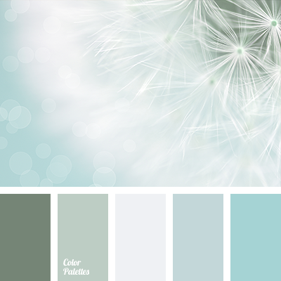 Bright Blue Color Palette Solution Gray Green Light Pale Of Cold Tones Selection Shades Marsh