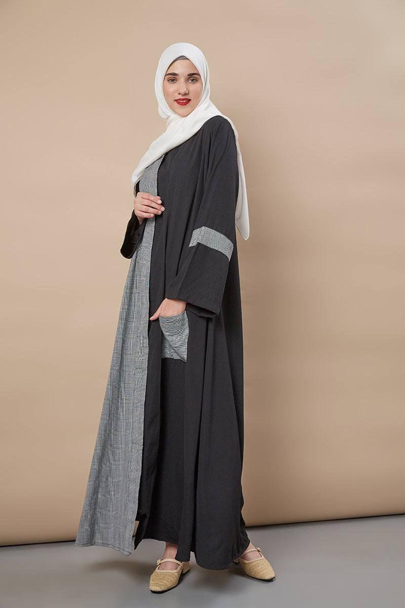 Jilbab Yang Cocok Untuk Baju Abu Abu