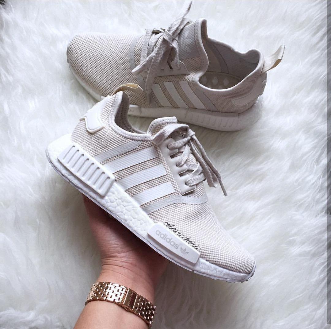 05cb865b8 adidas Originals NMD in creme-white beige-white    Foto  c estlavie cherie