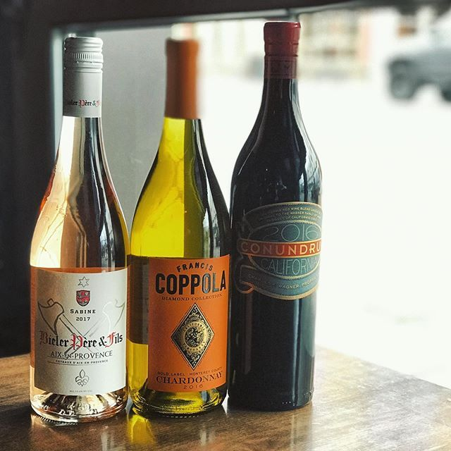 Happy Wino Wednesday! ALL our wine is half off today
