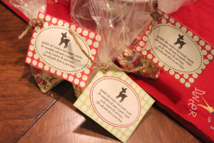 Diary of a {Wannabe} Domestic Diva: Reindeer food!