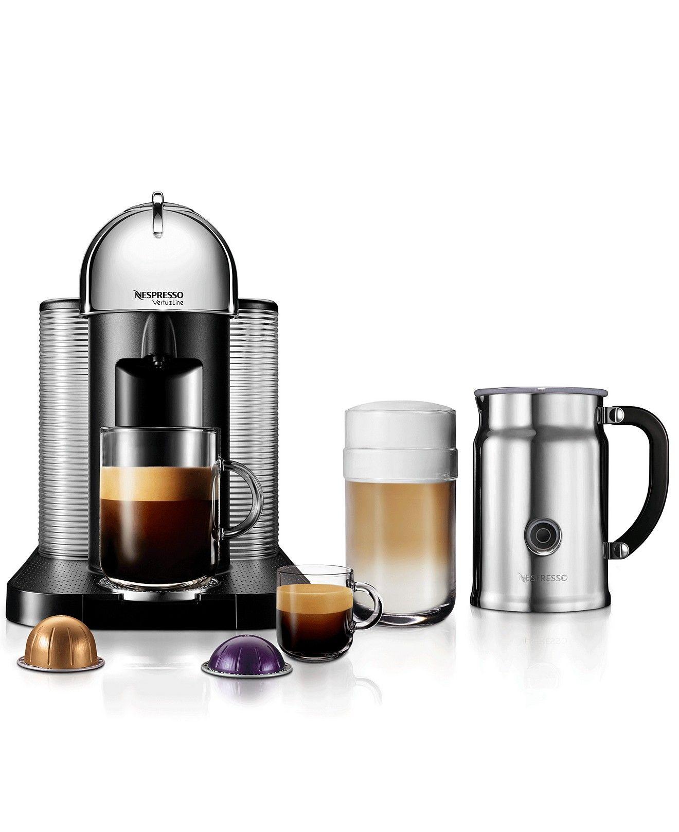 Nespresso VertuoLine Single Serve Brewer with Aerrocino