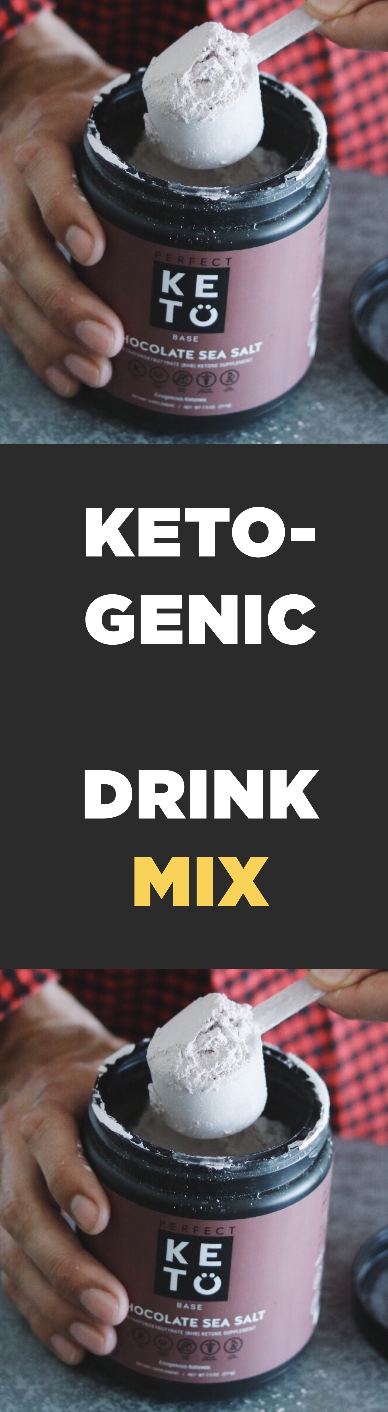Ketogenic diet drink mix. Doctor developed. No fillers. in