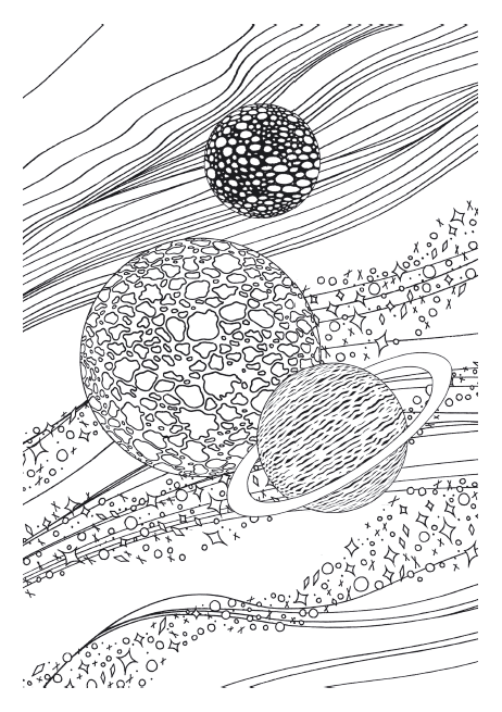 asteroid printable pattern - photo #5