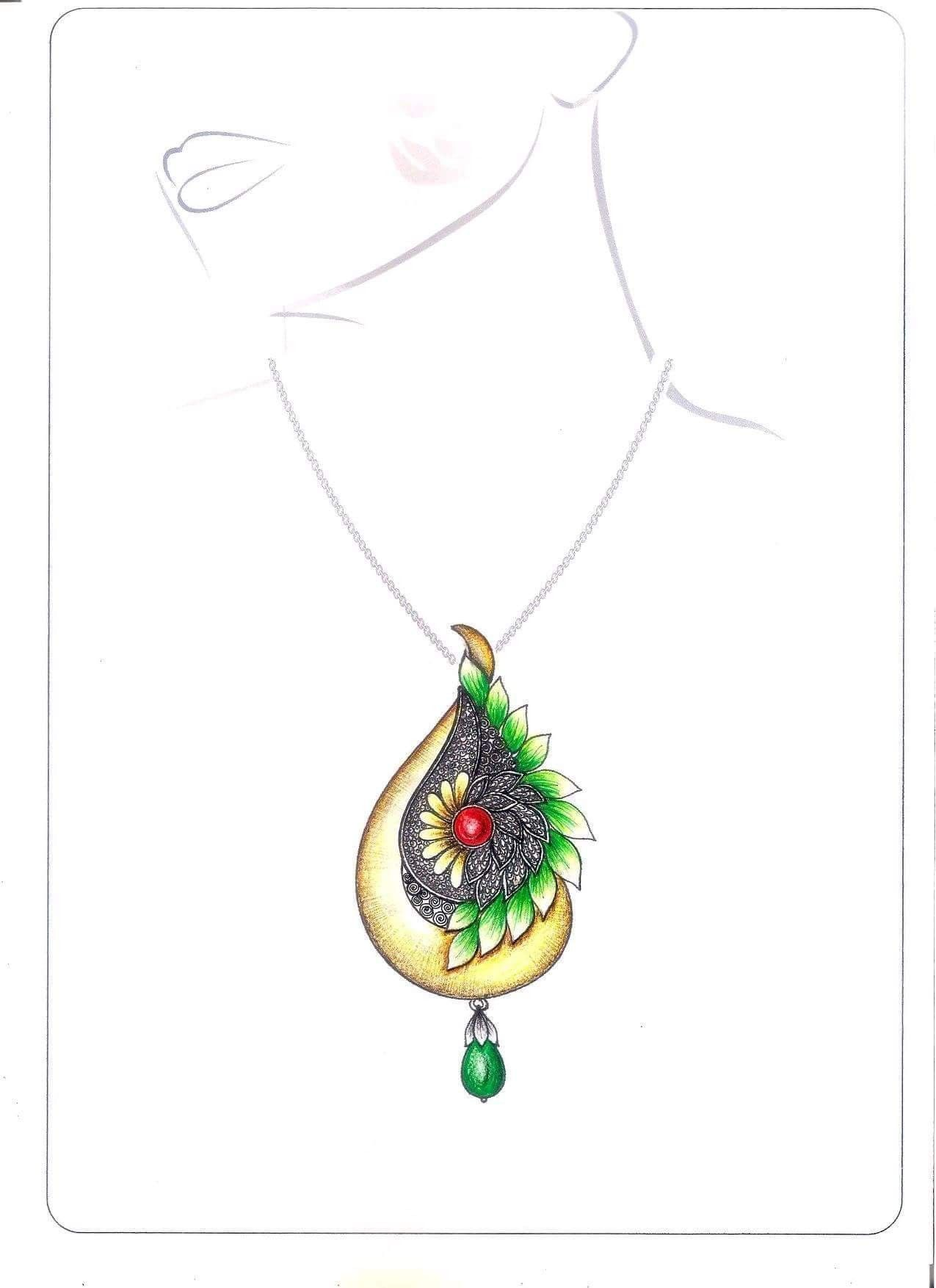 Pin By Melike On Cizim Jewelry Design Drawing Jewellery