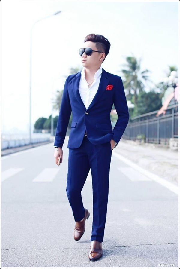 100 Best Blue Men\'s Suits Combinations to Look More Gorgeous | Navy ...