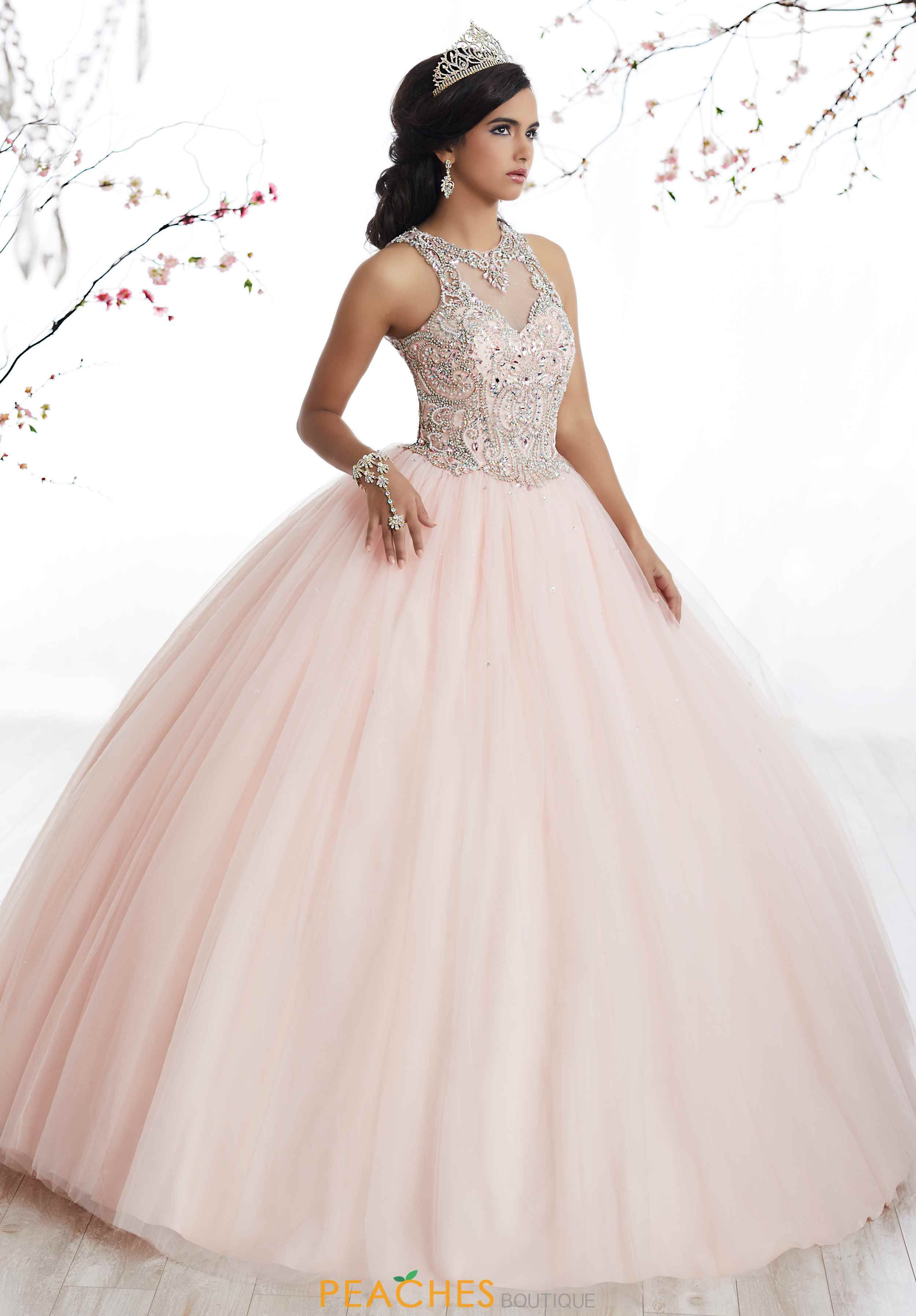 768addc1276 Tiffany Quince Beaded Ball Gown 56327