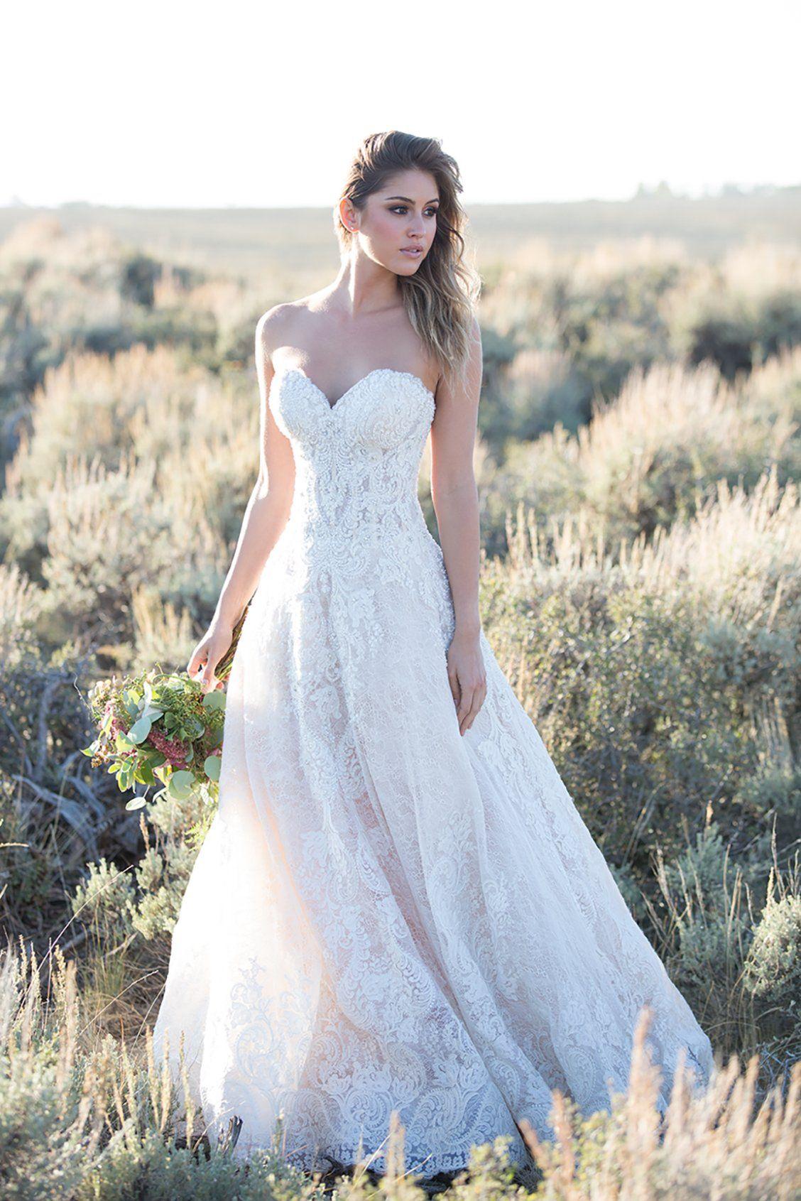 Allure Couture C481 Wedding Dresses Dream Wedding Dresses