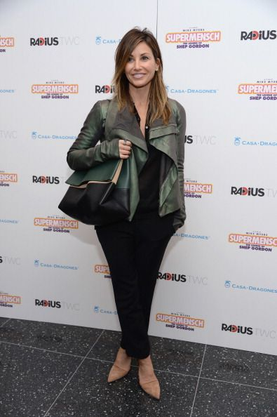 Gina Gershon attends the ''Supermensch: The Legend Of Shep Gordon' screening at The Museum of Modern Art on May 29, 2014 in New York City