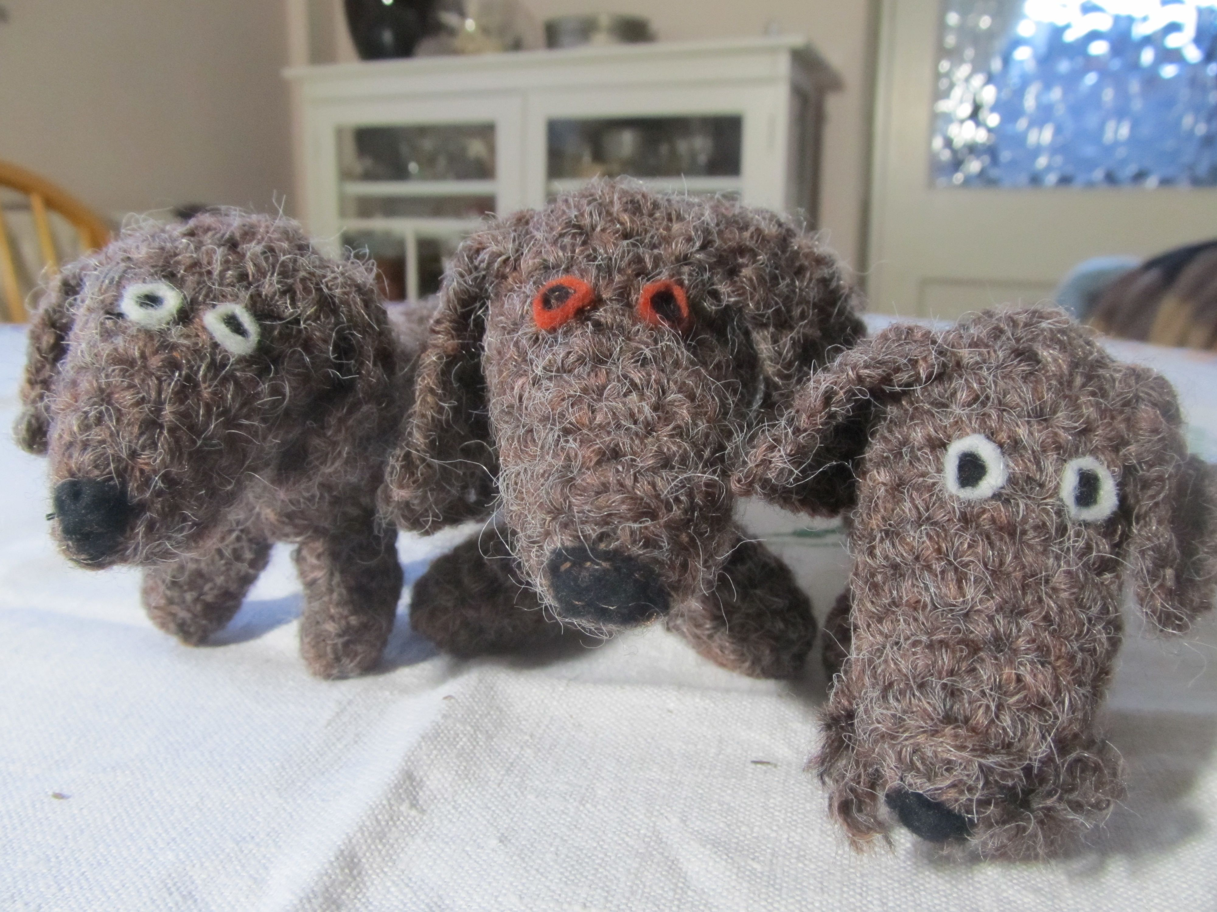 Knitted dachshunds creative textile pinterest dachshunds knitted dachshunds bankloansurffo Gallery
