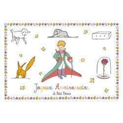 Carte postale Le Petit Prince - Joyeux Anniversaire 2