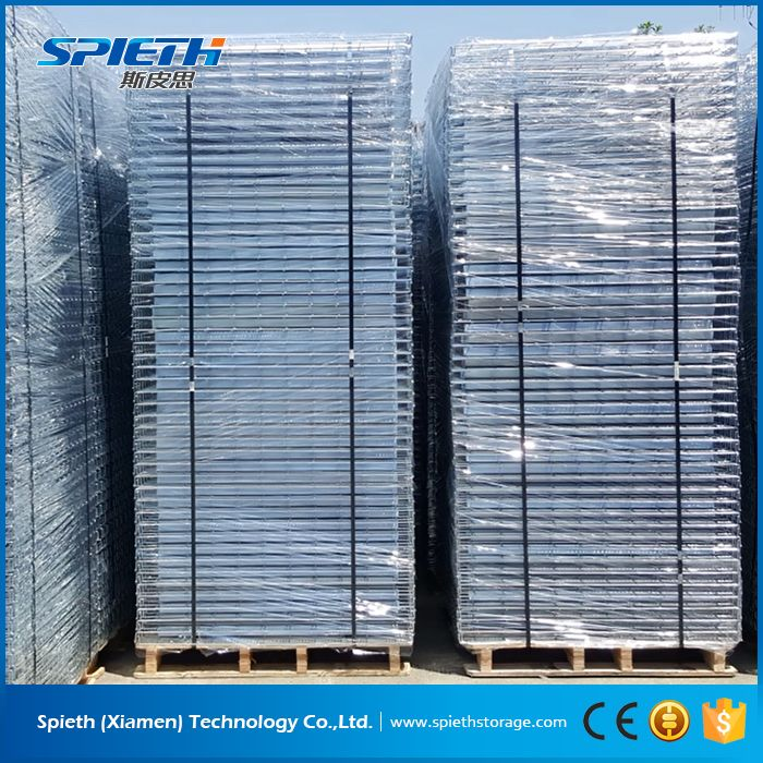 warehouse storage wire decking pallet rack with 1000kg load capacity ...