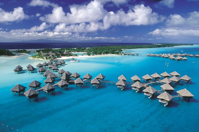 The 6 Most Beautiful Tropical Island Vacation Destinations - Bora Bora