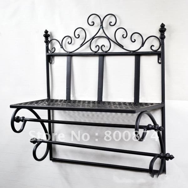 Aliexpress Com Buy European Style Iron Wall Mounted Rack