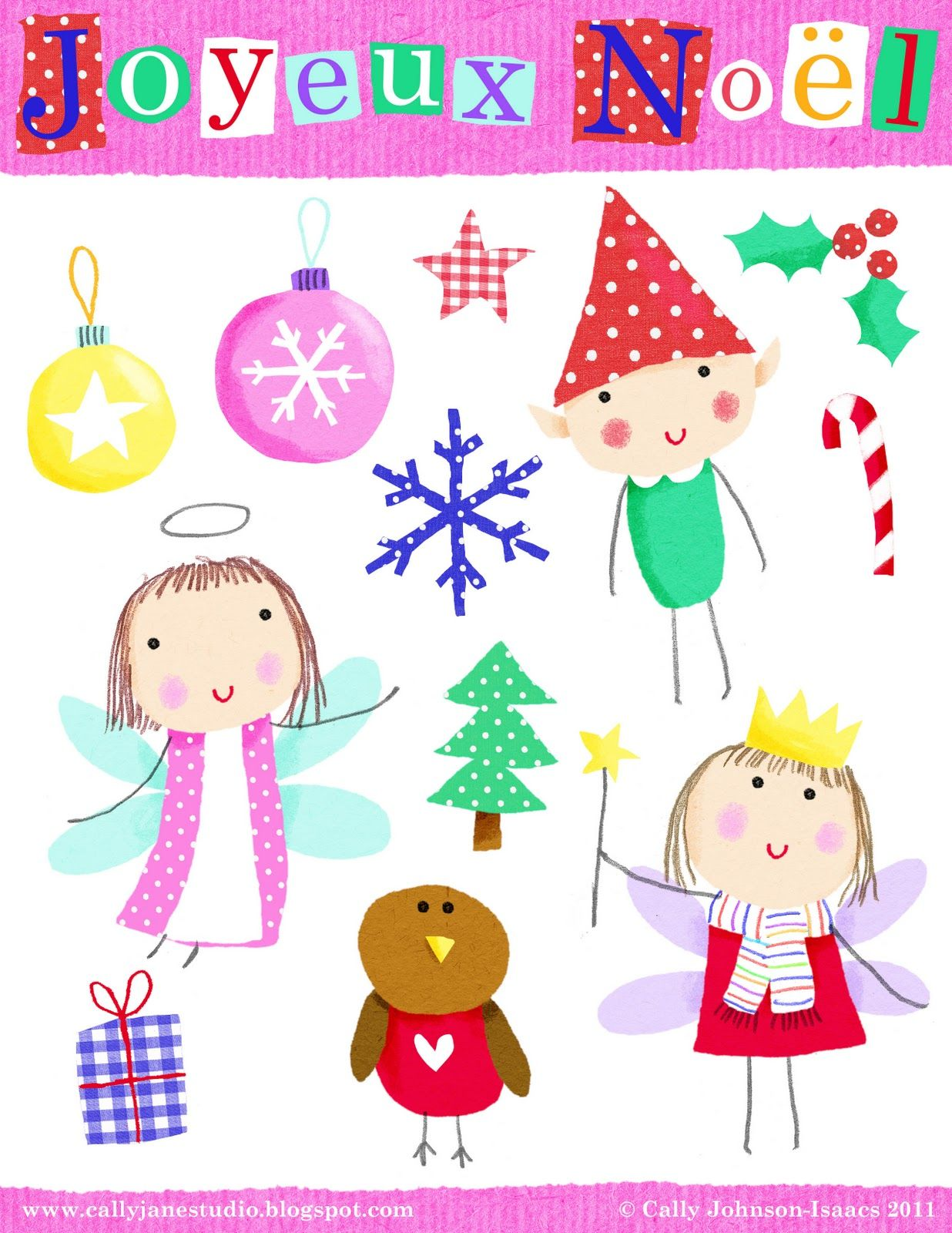 We Love to Illustrate: *FREE* Printable Holiday Scrapbooking ...