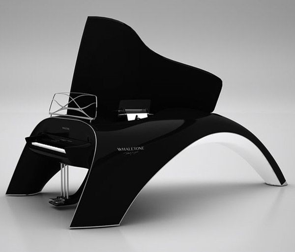 whaletone grand piano majkut s roland powered digital grand piano inspired by the beauty of. Black Bedroom Furniture Sets. Home Design Ideas