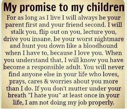 My Promise To My Children Quotes Quote Family Quote Family Quotes