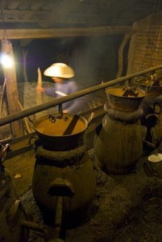Making moonshine with a pressure cooker