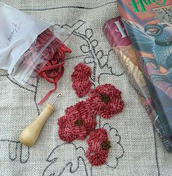 1000 Images About Rug Hooking Punch Nakış On Pinterest Hand