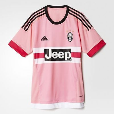 ADIDAS JUVENTUS MAGLIA AWAY JERSEY SOCCER JEEP - ROSA PINK - S12846 - S12852 d71ae34ae4564
