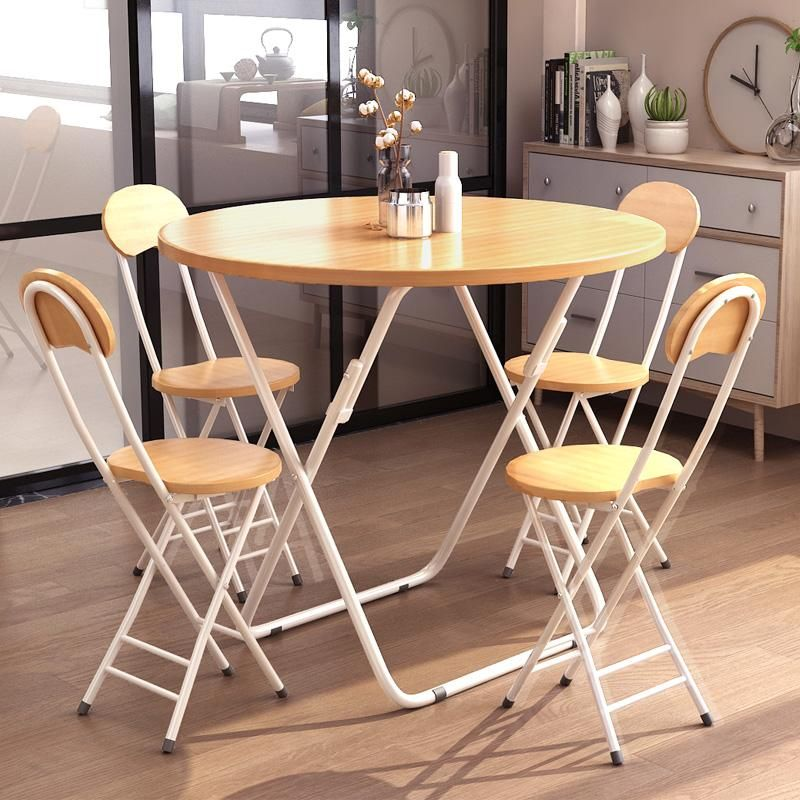 Folding Table Dining Eating Table Dining Room Simple Dining Table