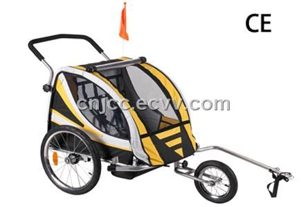 Golden Color Baby Bike Trailer Cheapest Model China Baby