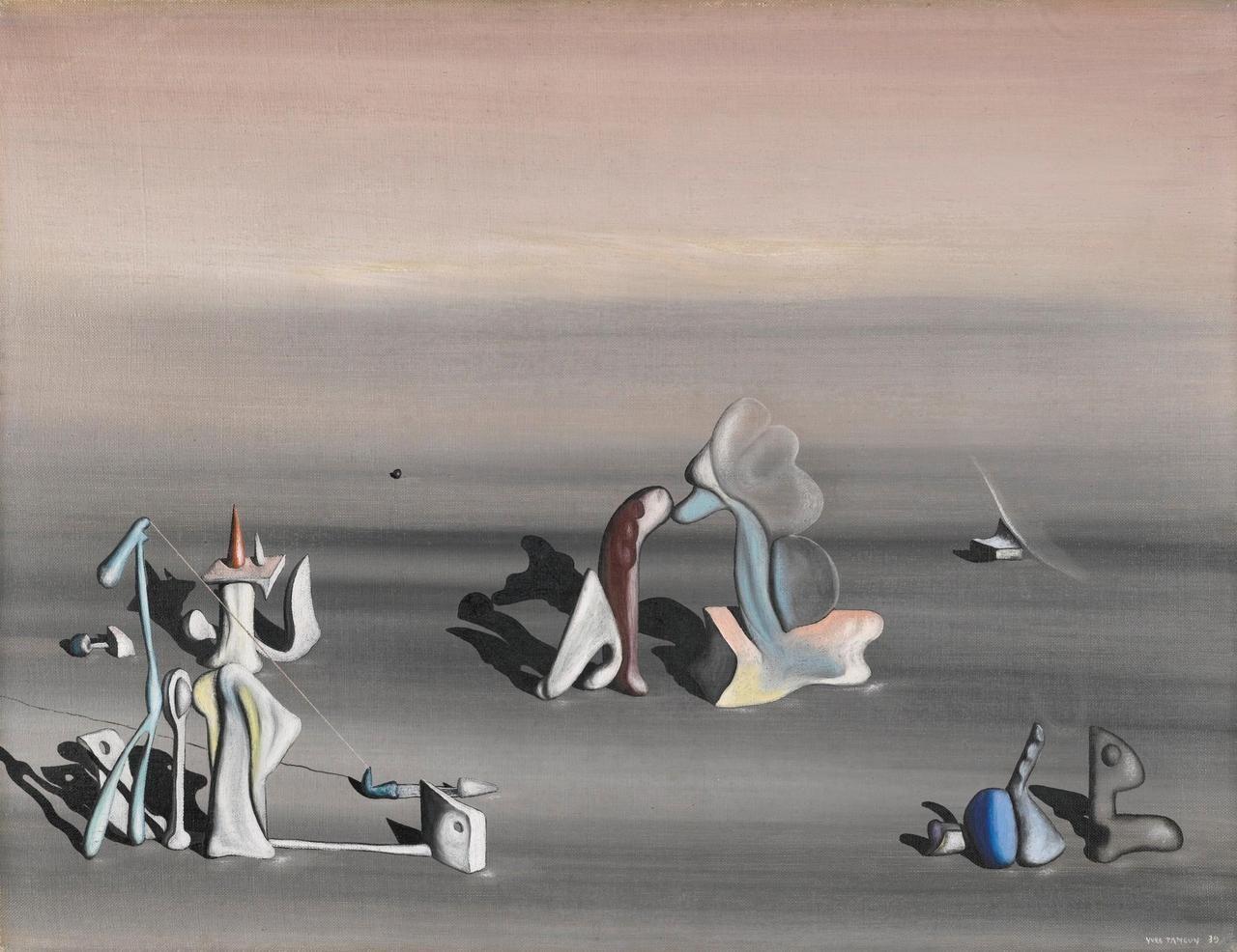 Yves Tanguy (français, 19001955), Certitude, 1939. Huile