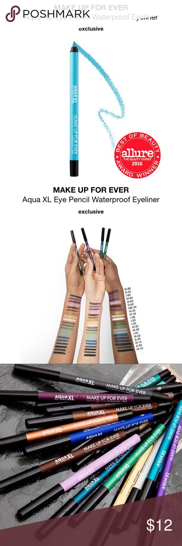 Make Up For Ever Aqua XL Eyeliner in Blue M26 NWT Make